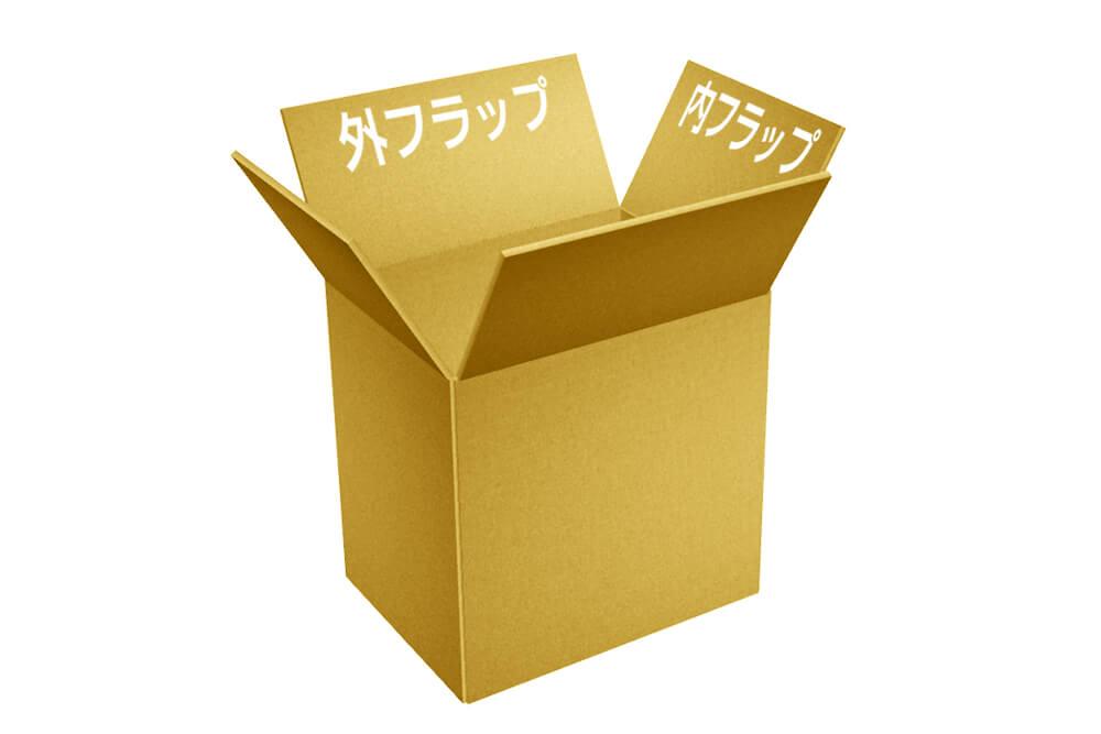 A式ダンボール箱(みかん箱型)